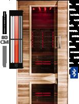 infrarood sauna bekijk het aanbod infrarood sauna s van nobel. Black Bedroom Furniture Sets. Home Design Ideas